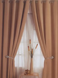 Eyelet Curtains and voile