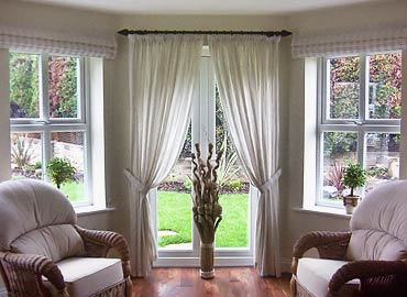 curtain voiles living room